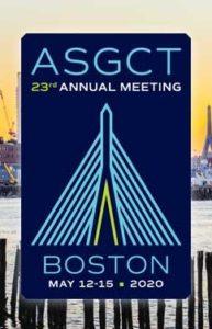 ASGCT 2020 @ Hynes Convention Center | Boston | Massachusetts | United States